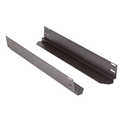 Sliding rails L=315 mm, for depth 600 mm, RAL9005