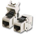 Keystone Jack, Cat.6 RJ45-LSA, STP, tool-less