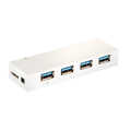 USB 3.0 Hub, 4-Port, White